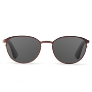 Atlas Crimson Titanium & Rosewood Polarized Sunglasses