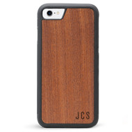Monogram iPhone 7 Wood Case - Rosewood