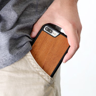 Pineapple Design - Wood Phone Case