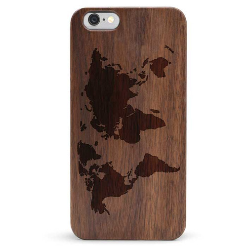 World Map Iphone 6s Case.Iphone 6 6s Wood Phone Case Cover World Map Tmbr