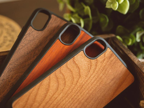 custom engraved wood iphone x cases real wood tmbr