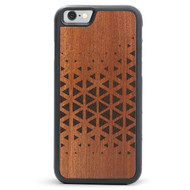 Shockproof Wood iPhone Abstract Case