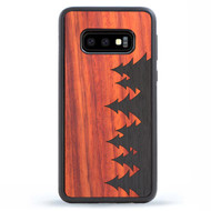 Wood Galaxy S10 Phone Case - Forest Tmbr