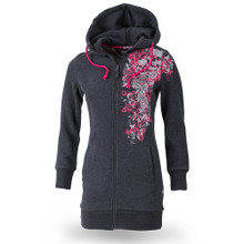 Thor Steinar women hooded sweatjacket Nianå