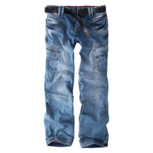 Thor Steinar cargo trousers Valtteri Light Blue