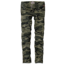 Thor Steinar women jeans Lyngdal olive-camo