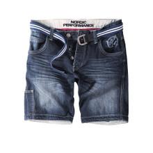 Thor Steinar jeansshort Nørsand