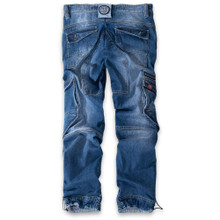 Thor Steinar cargojeanstrousers Qyvind denim-lightblue