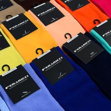 Feraricci Solid Crew Socks Size 10-13