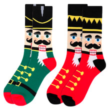 Parquet Nutcracker Christmas Socks Size 10-13