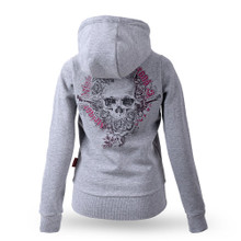 Thor Steinar women hooded jacket Skull