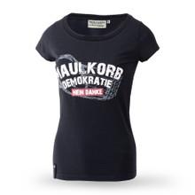 Thor Steinar women t-shirt Maulkorb Demokratie