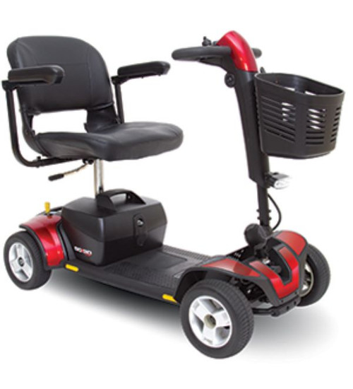 Go Go Sport 4 wheel scooter by Pride Mobility