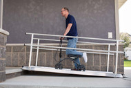 Gateway Solid Surface Portable Ramp