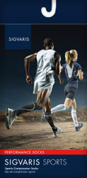 Sigvaris Men's & Women's Athletic Performance Socks 20-30mmHg