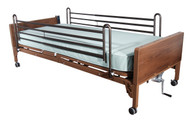 Full Electric Bed with Full Rails and Foam Mattress - 15005bv-pkg-2