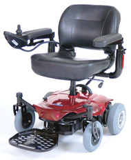 Red Cobalt Travel Power Wheelchair - cobaltrd16fs