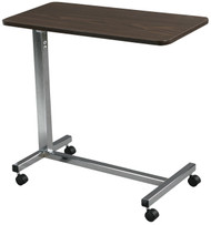 Non Tilt Top Chrome Overbed Table - 13003