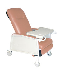 3 Position Heavy Duty Bariatric Rosewood Geri Chair Recliner - d574ew-r