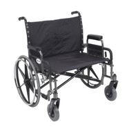 Sentra Heavy Duty Wheelchair with Detachable Desk Arms - std30dda