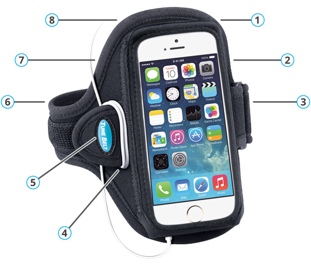 Sport Armband Features