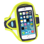 Sport Armband for iPhone SE and 5S / 5 / 5C - Reflective Yellow - AB87RY