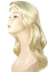 blond alice in wonderland wig straight long costume wigs