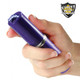 Stunningly Effective and Attractive Purple Mini Streetwise Stun Gun