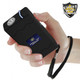 Streetwise 8,800,000 volt Stun Gun in Black with Safety Wrist Strap