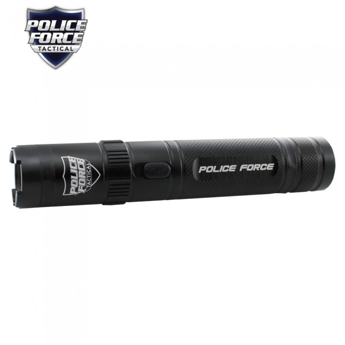 Police Force Tactical 9 2 Million Volt Black Stun Gun & Flashlight by  Streetwise - Lifetime Warranty