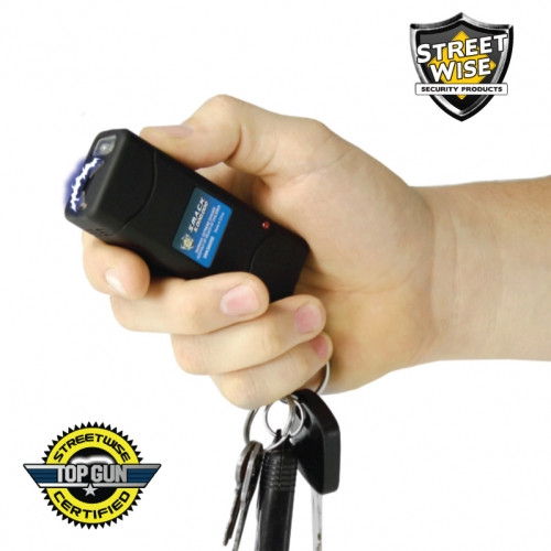 Self Defense Keychain Stun Gun Streetwise Smack 6 Million Volt