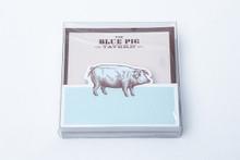 Blue Pig Tavern Memo Pad