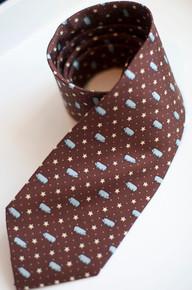 Blue Pig Necktie