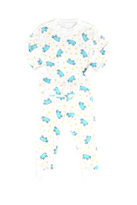 Blue Pig Children's Pajams