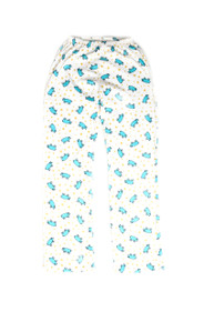 Blue Pig Adult Pajama Pants