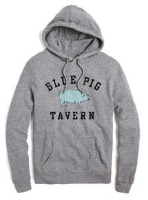 Blue Pig Tavern Tri-Blend Hooded Sweatshirt