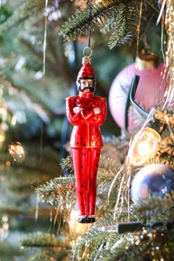 Congress Hall Red Soldier Ornament