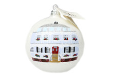 Virginia Hotel Round Ornament