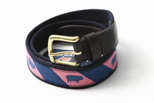 Blue Pig Club Belt