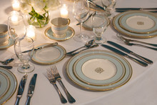 Congress Hall Bicentennial Place Setting with Teacup