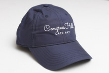 Congress Hall Script Hat - Navy