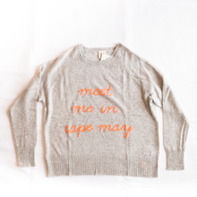 Meet Me in Cape May Sweater