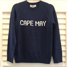 Cape May Sweater - Women's Navy/Ivory