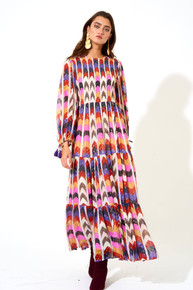 Oliphant Milano Smocked Top Maxi Dress