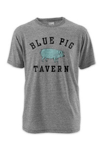 Blue Pig Tavern tri-blend s/s tee