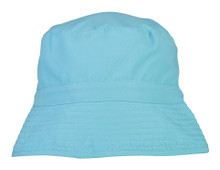 Snapper Rock  Kids UV50 Bucket Hat - Aqua