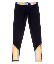 Snapper Rock Girl's Opti Stripe Swim Leggings