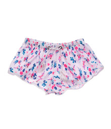 Snapper Rock Girl's Pretty Petals Swim Shorts