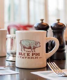 Blue Pig Coffee Mug