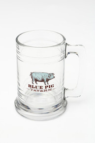 Blue Pig Beer Mug